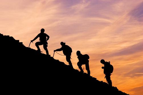 hiking silhouette desktop wallpaper - photo #21
